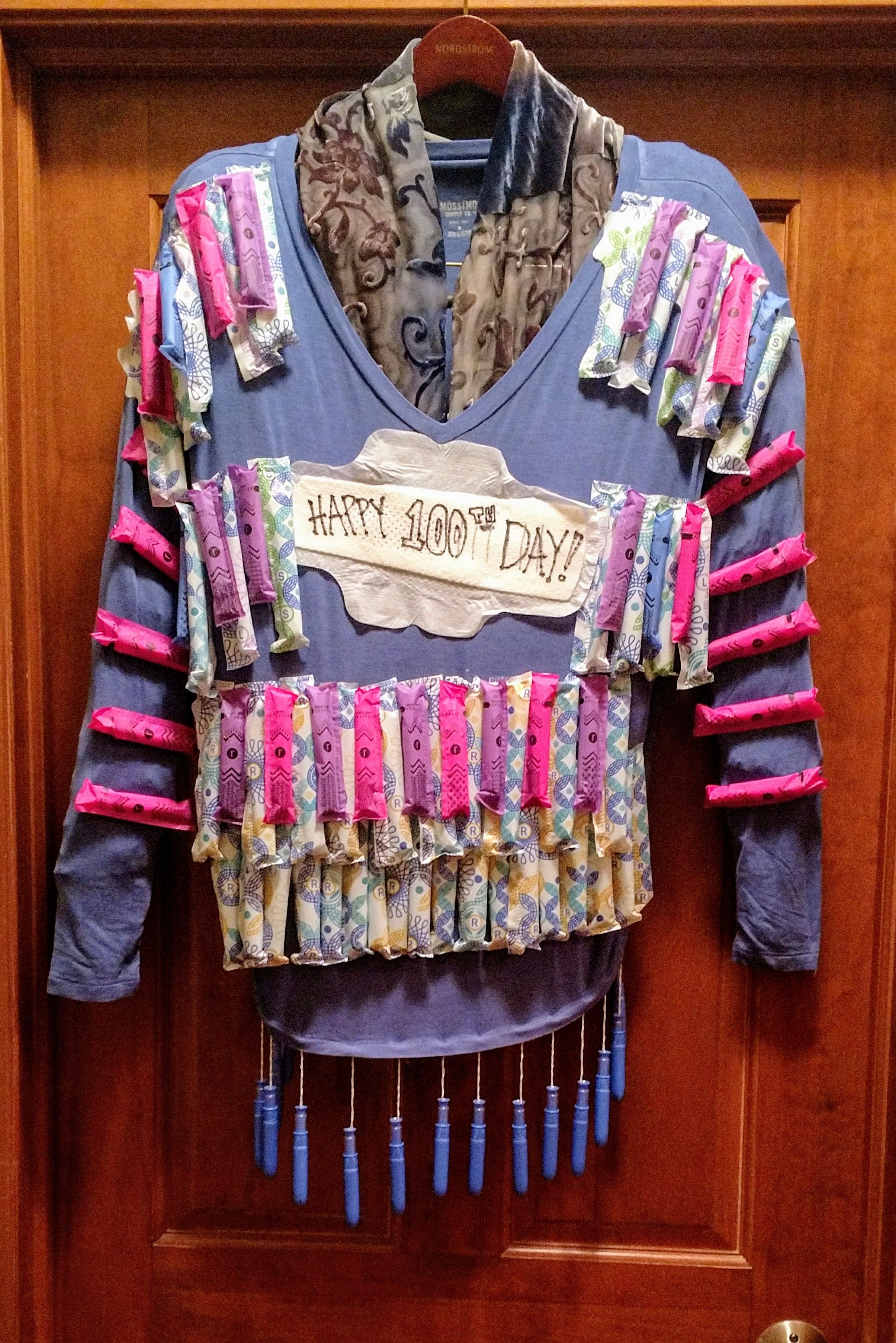 """Download Completely Inappropriate """"100th Day of School"""" T-Shirt ..."""