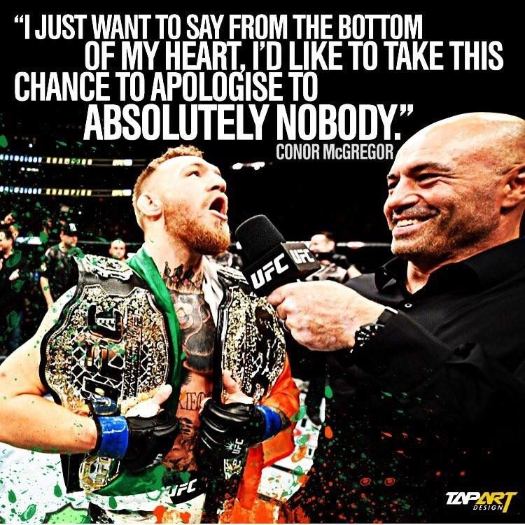 Absolutely Fookin Nobody Conor Mcgregor Quotes Conor Mcgregor Boxing Quotes
