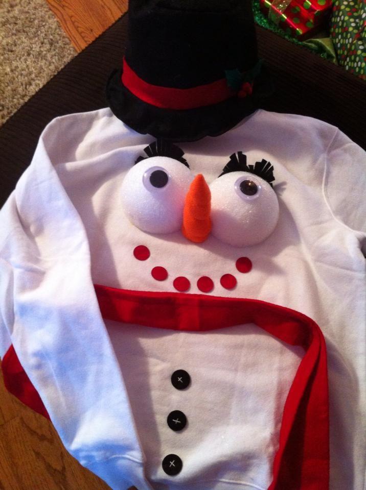 Snowman Boobs Frosty Snow People Pinterest Christmas