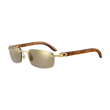 25127c9345 C DECOR Rimless cartier-sunglasses  2