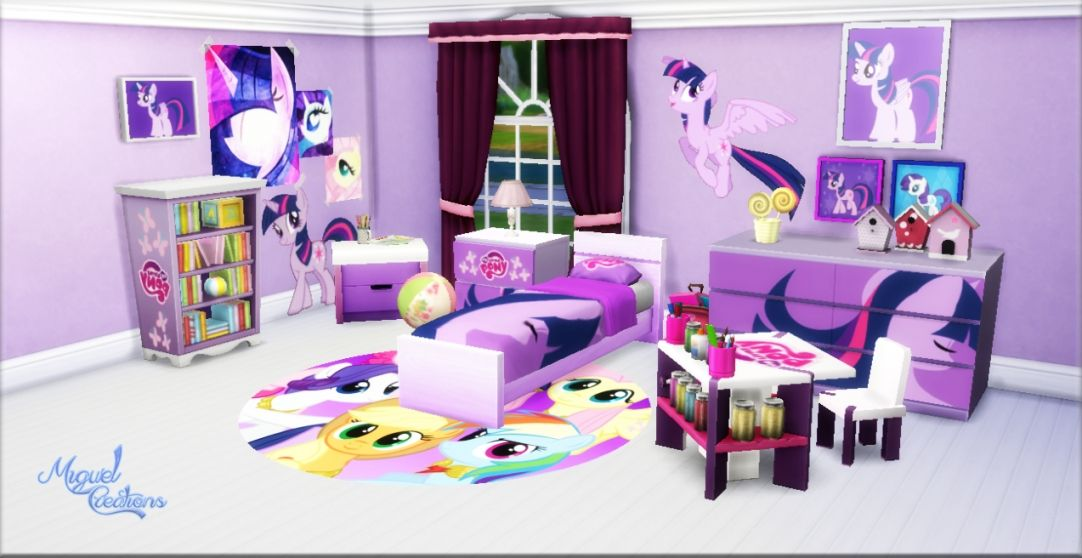 My Little Pony Bedrooms Photos And Video My Little Pony