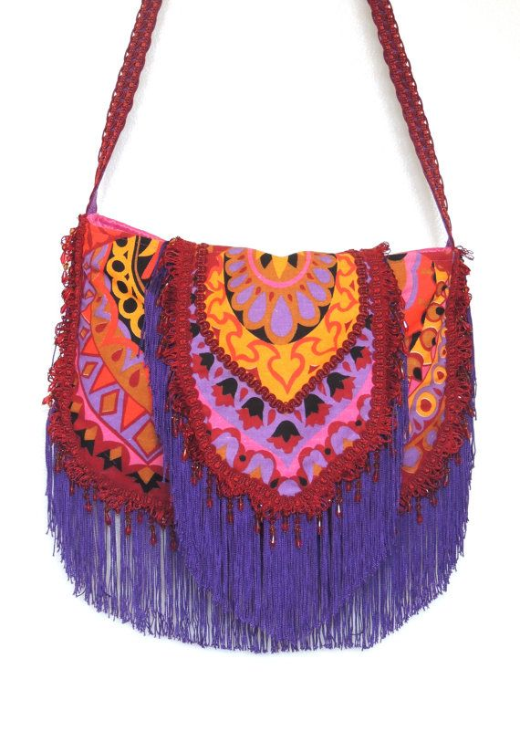 46b45bd7bac Boho bag I WANT! Colors are amazing.   Spirit in the Sky   Hippie ...