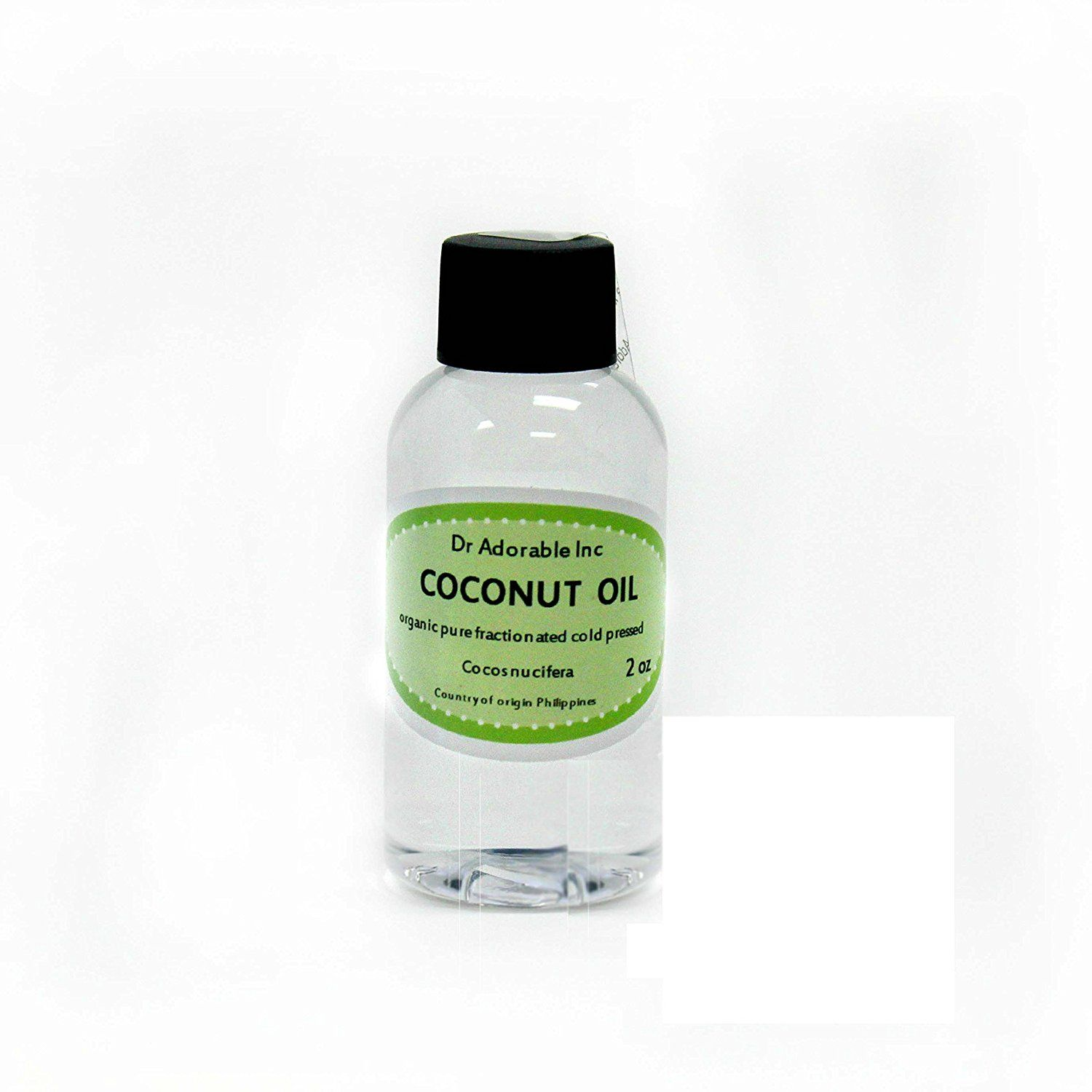 Fractionated Coconut Oil Pure Organic Raw by Dr Adorable 2
