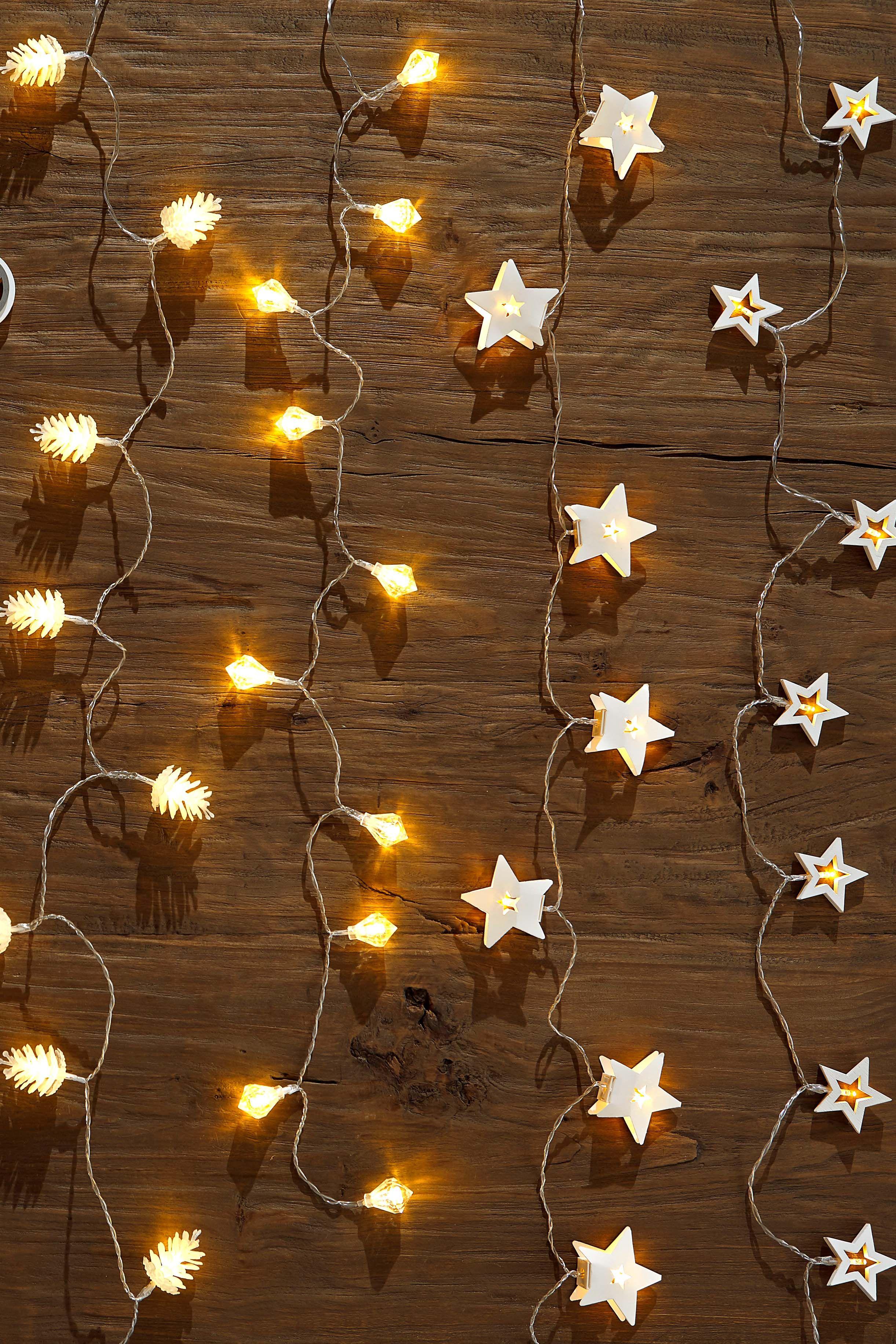 Led Lichterkette Funkeln.So Schon Funkeln Unsere Lichterketten Aus Sternen Tannen
