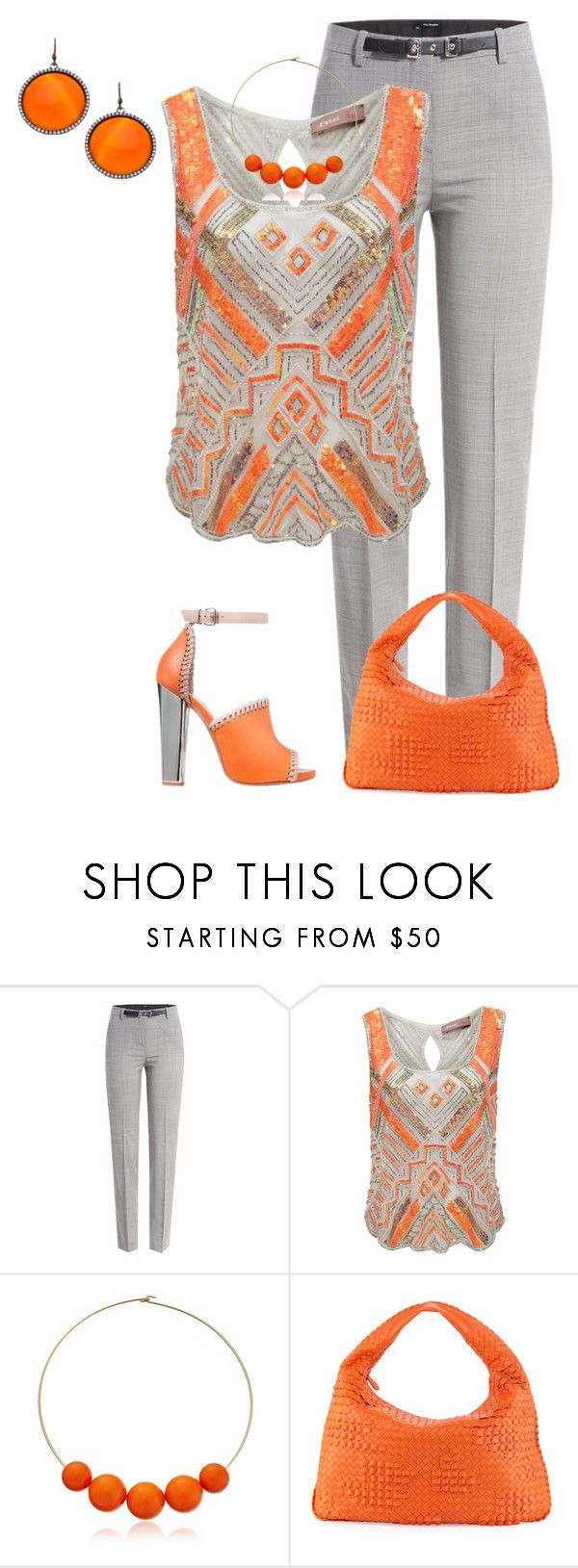 """""""Sin título #905"""" by marisol-menahem ❤ liked on Polyvore featuring The Kooples, A