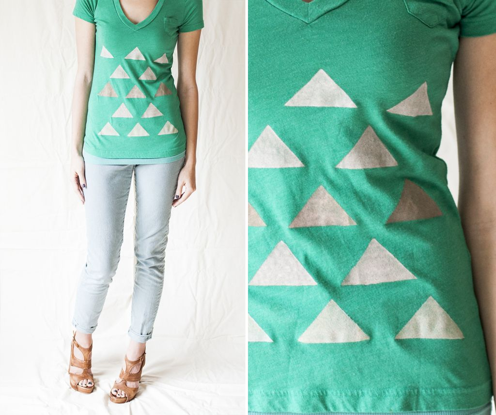 Super easy DIY t-shirt design using fabric paints! from offbeat ...