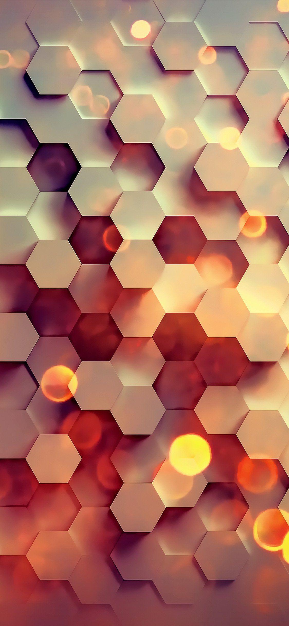 Amazing Iphone X Backgrounds Abstract Iphone Wallpaper Hexagon