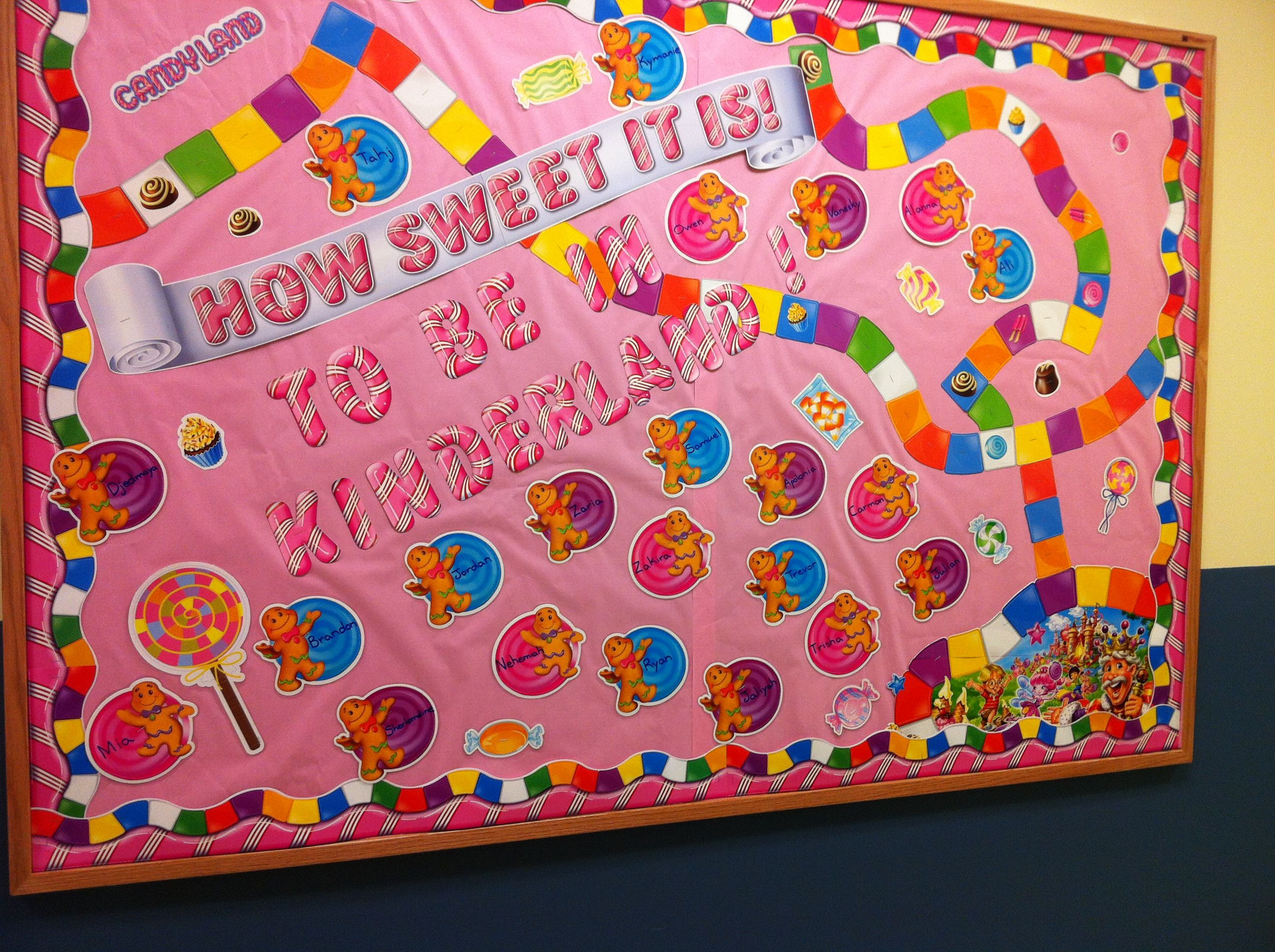 My New Theme Candyland Candy Theme Classroom Board Game
