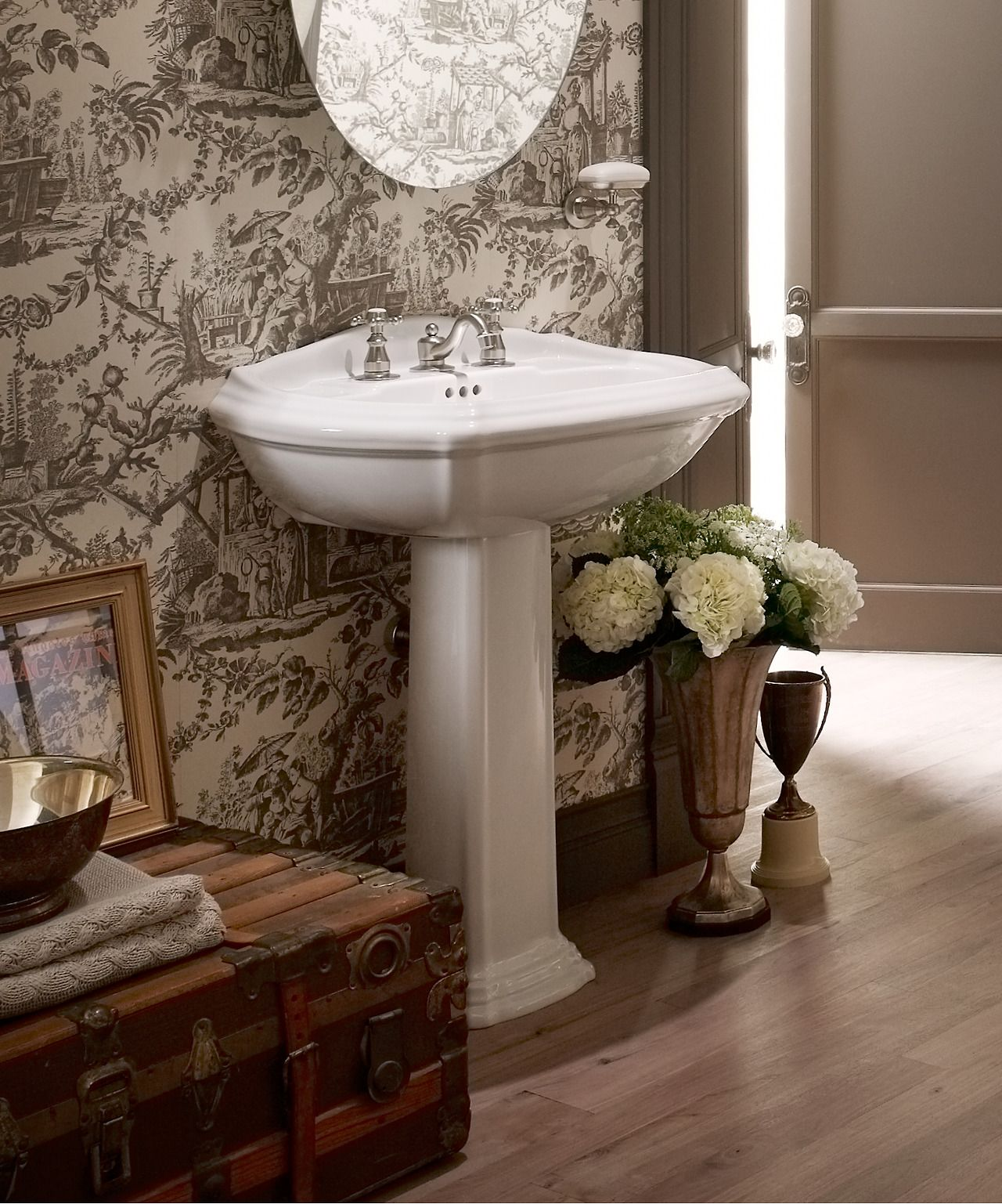 The Bold Look Of French Provincial Design Bathroom Styling