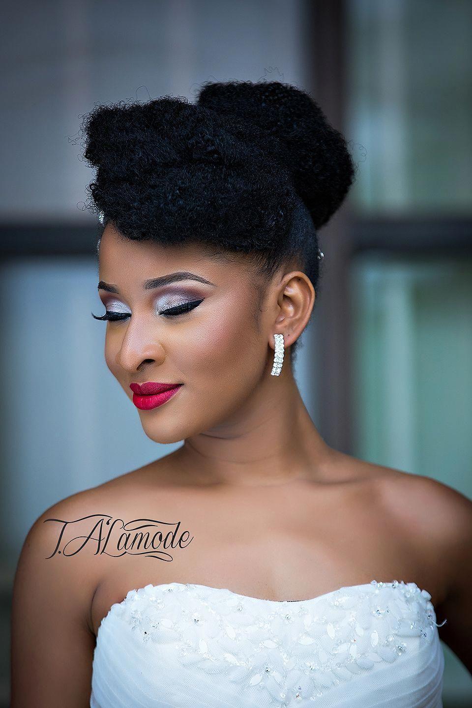 Nigerian Bridal Natural Hair And Makeup Shoot Black Bride Bellanaija 2015 08 2 Natura Natural Wedding Hairstyles Natural Hair Wedding Natural Hair Bride