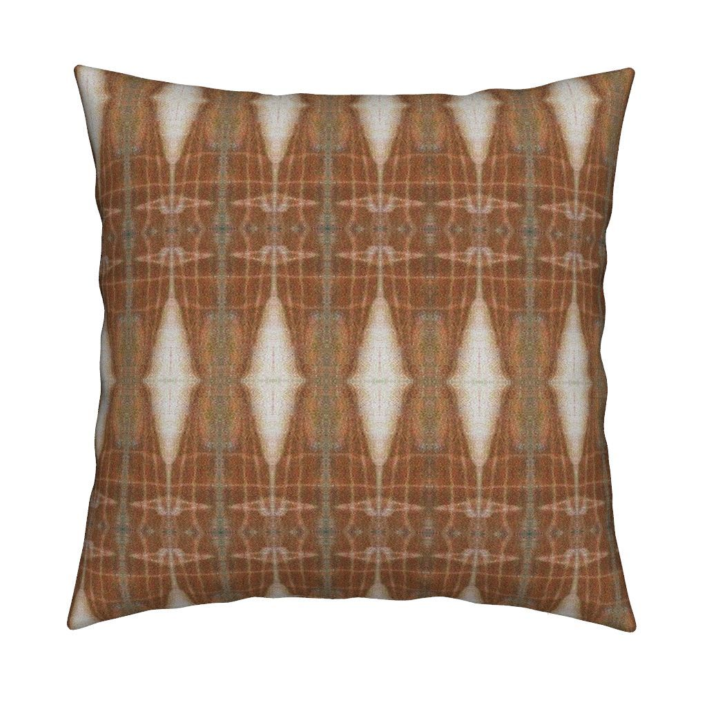 Catalan Throw Pillow featuring KRLGFabricPattern_154Alarge by karenspix   Roostery Home Decor