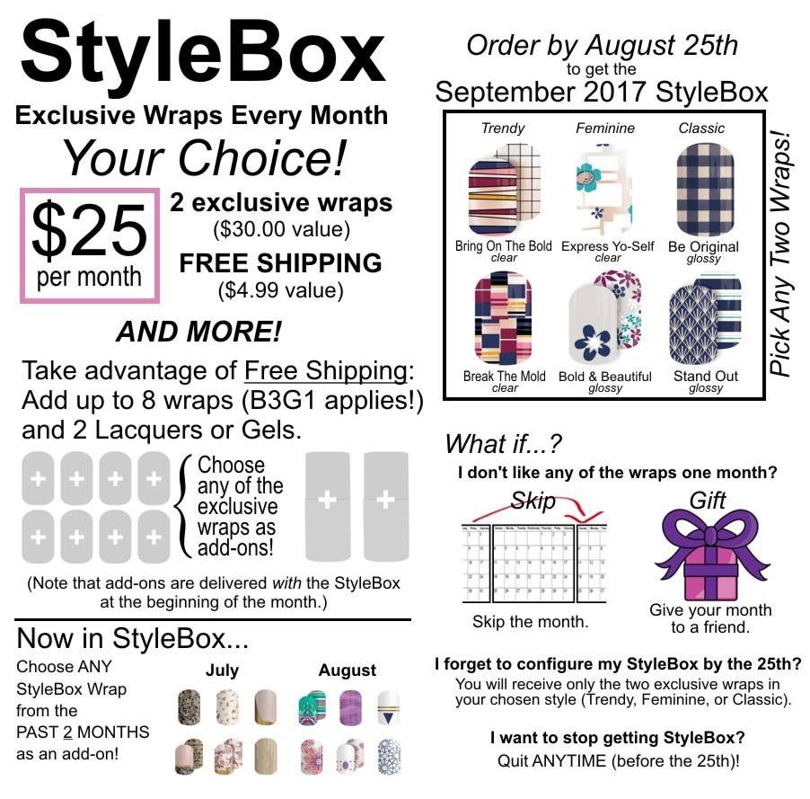 How does StyleBox work? With Jamberry monthly StyleBox (no