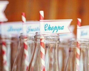 names on bottles