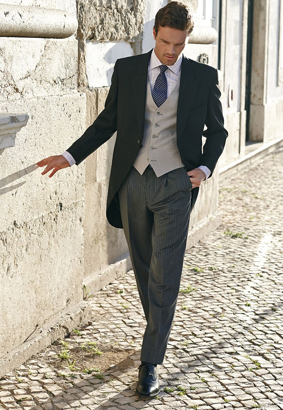 29c2a8fd08 Vinatge style 1920s Classic Morning Suit £340.00. Great look for vintage  weddings. AT vintagedancer.com