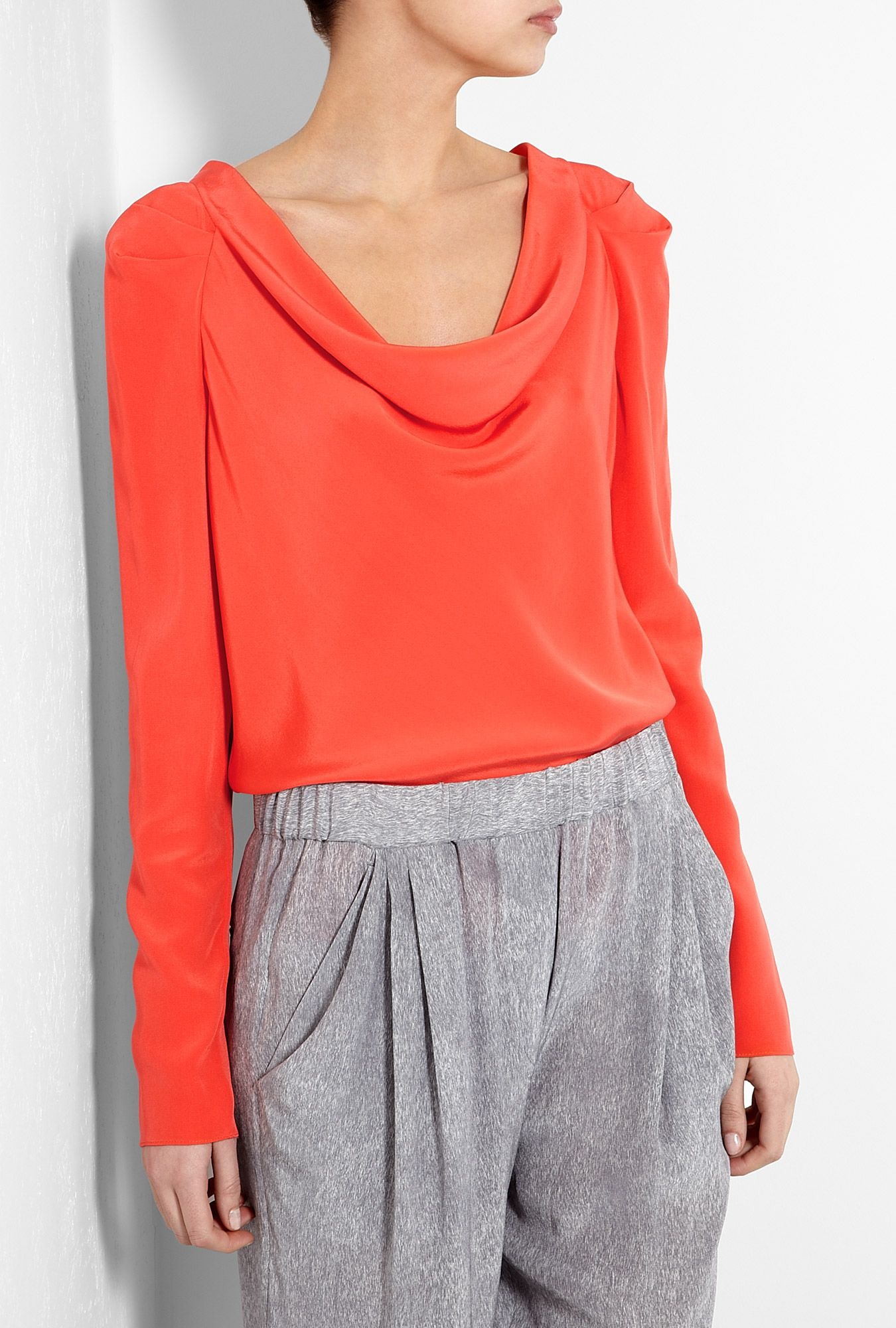 Tres chic cowl neck top from Vanessa Bruno.