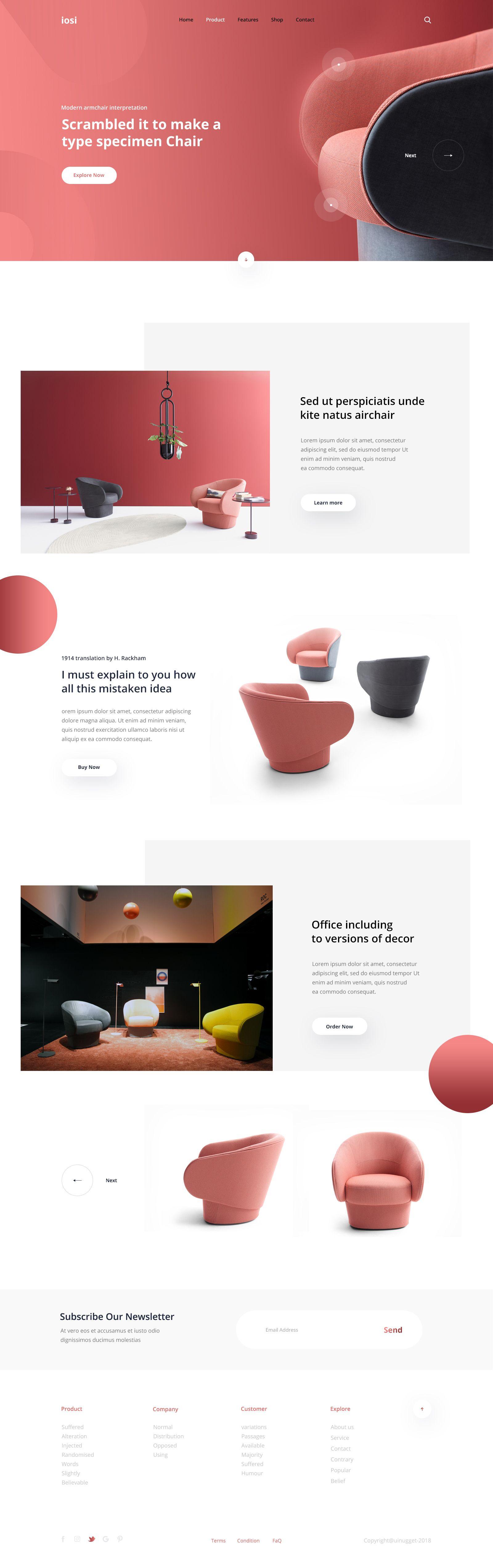 Isoi home page design pinterest ui ux ui ux design and ux