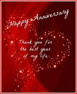 1st Anniversary Gifts Happy Anniversary Messages Happy