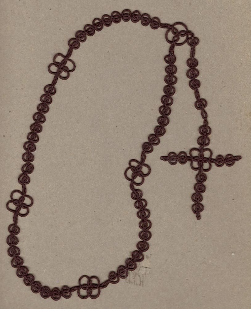 Boyus manus rosary in standard size all excess picots removed