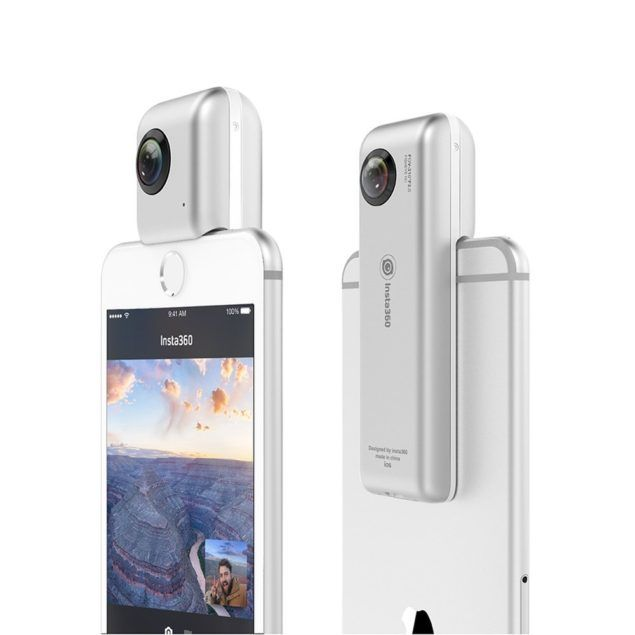 Insta360 Nano Turns Your iPhone Into A Virtual Reality