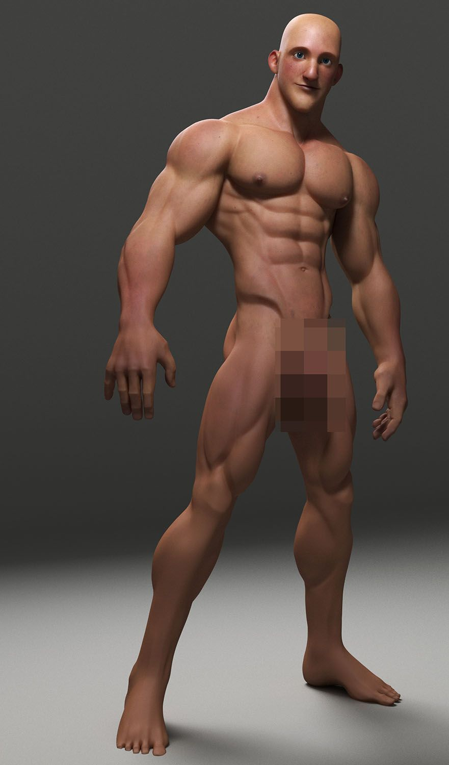 albron is creating 3d gay muscle men | alex bronnings | pinterest