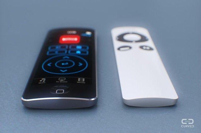 Apple Tv Concept Tv Apple Distanza Tv