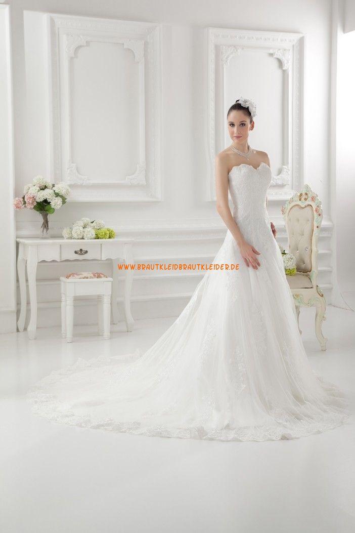 Schlichtes Schönes Brautkleid 2013 aus Organza | hochzeitskleider ...