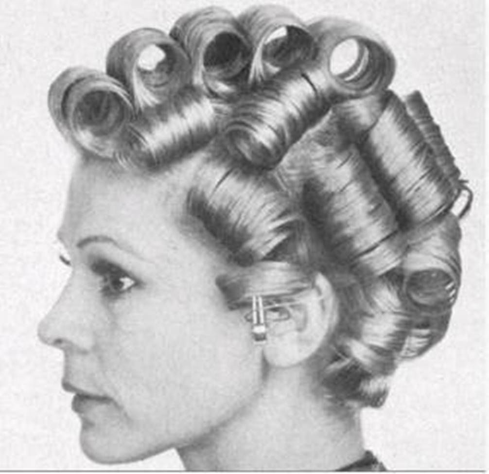 Pin By Scott On Vintage Beauty Parlor Sleep In Hair