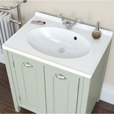 Moods Eterno Pistachio 2 Door Vanity Unit 700mm