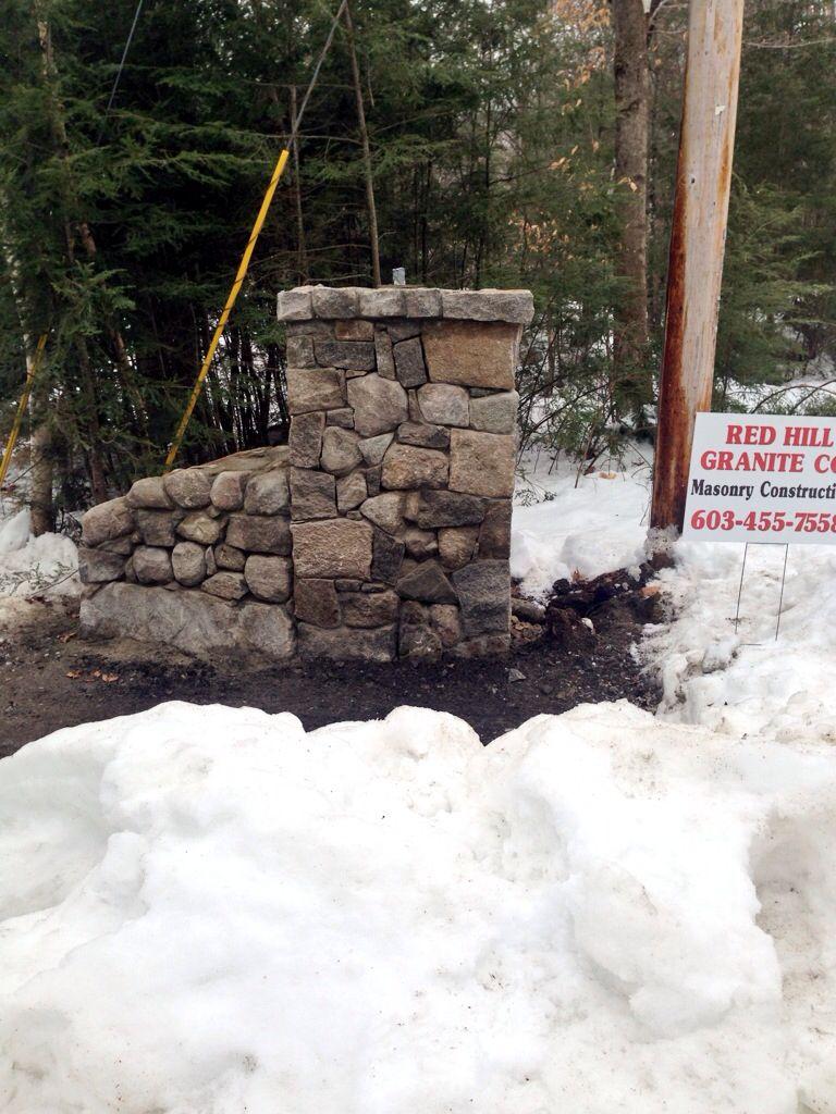 Entry gatepost