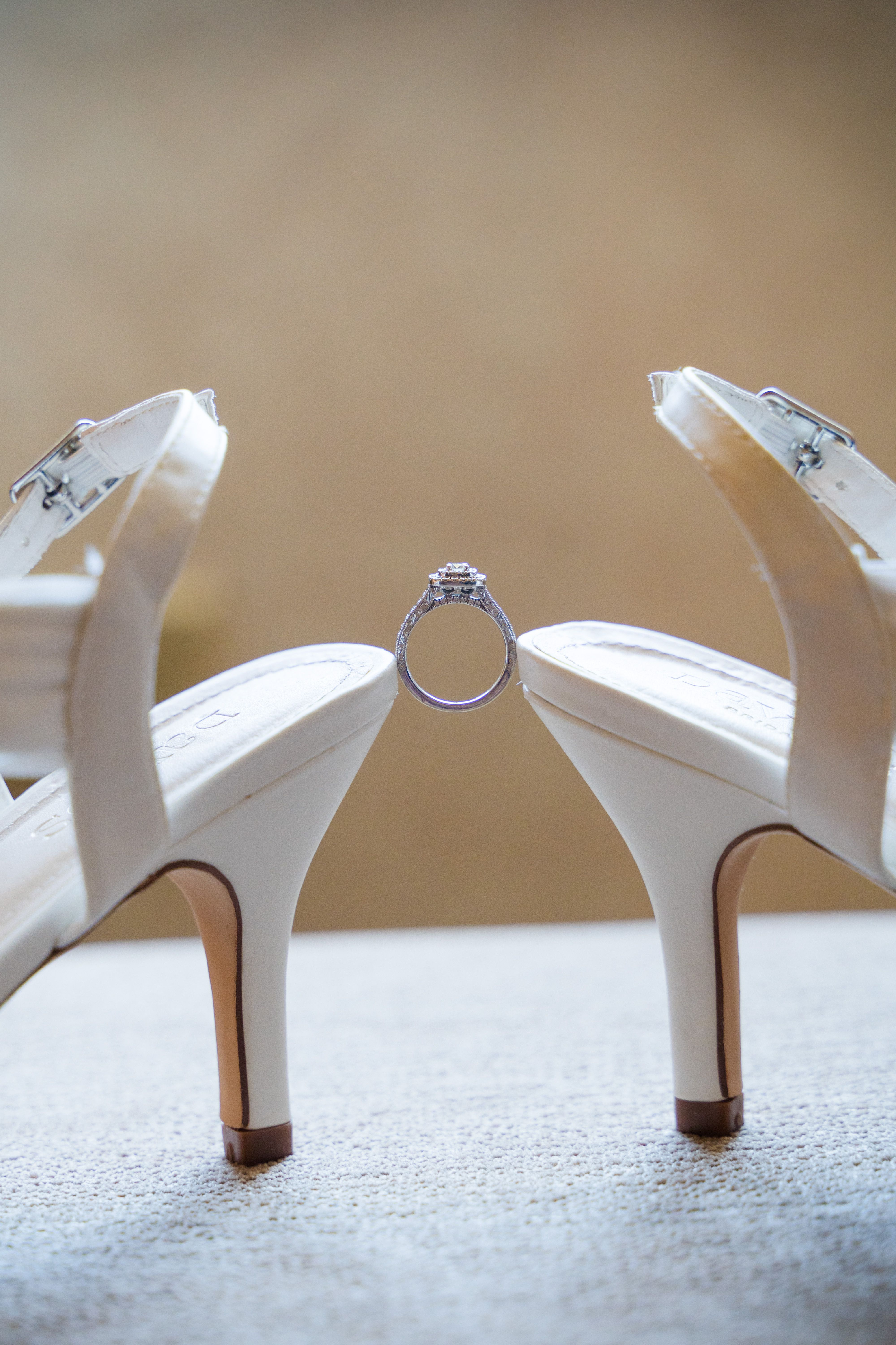Rings and Shoes Wedding Details Nj wedding photographer