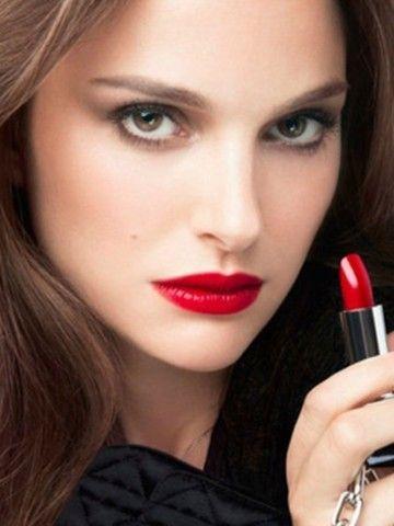 red lips makeup - Sök på Google