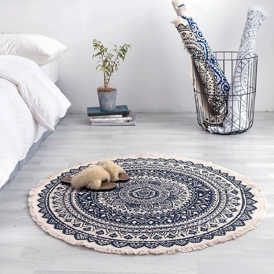 Archi Round Morocco Rug For Living Room Bedroom Carpet Rugs On Carpet Round Carpets #round #carpets #for #living #room