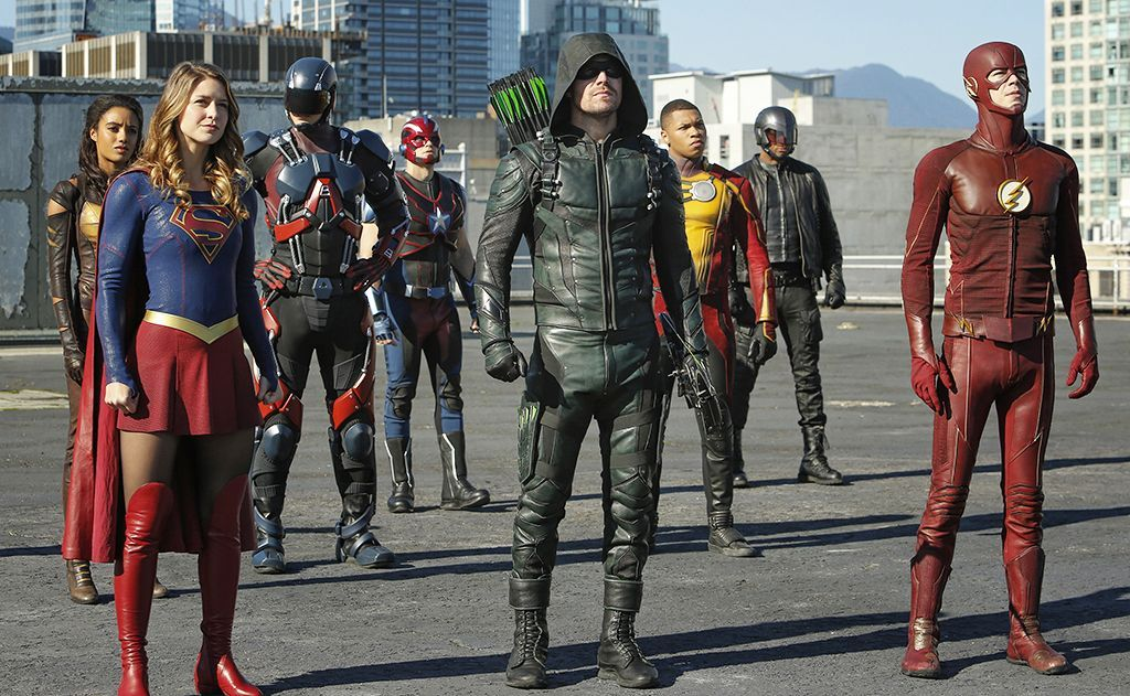 Supergirl Arrow The Flash Legends Of Tomorrow Crossover