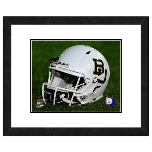 Photo File Baylor University Helmet 16 x 20 Matted and Framed Photo