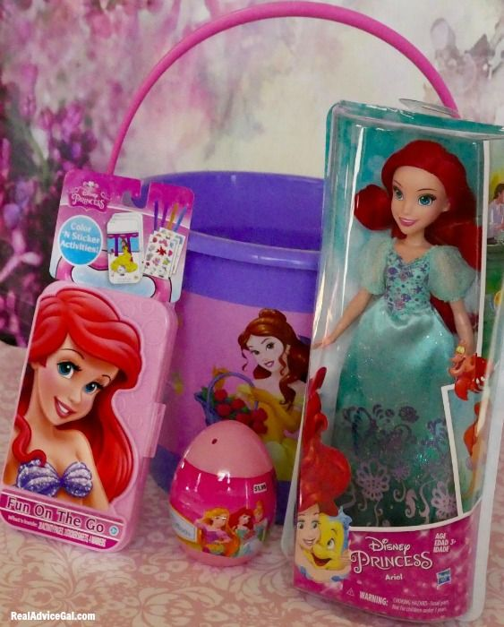 Easter gift basket for kids with disney princess from walmart easter gift basket for kids with disney princess from walmart negle Images