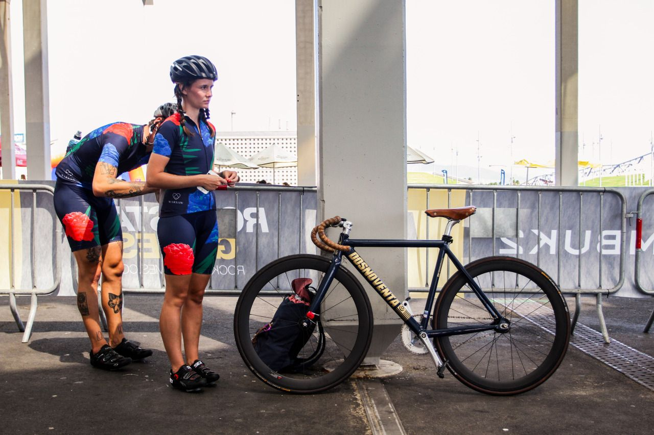 Nashosen Team Warsawcycling At Red Hook Crit Barcalona Fixie