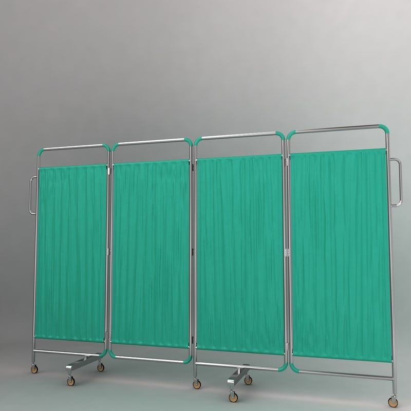 3d Hospital Curtain Model Hospital Curtains Curtains Hospital Furniture