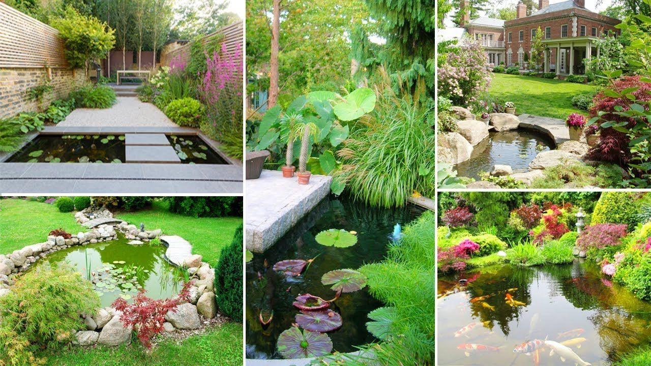 120 Cool Backyard Pond Design Ideas DIY Garden https