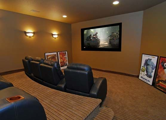 theatre room. Just wait until the kids move out.