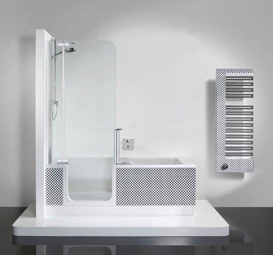 Bath And Shower Unit bathtub and shower in one unit | bath shower, bath and wall ledge