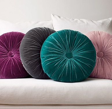 Round Throw Pillows In Different Colors Round Pillows Impressive Long Round Decorative Pillows
