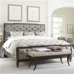 Thomasville Harlowe & Finch Mirabeau King Sized Bed w Uph