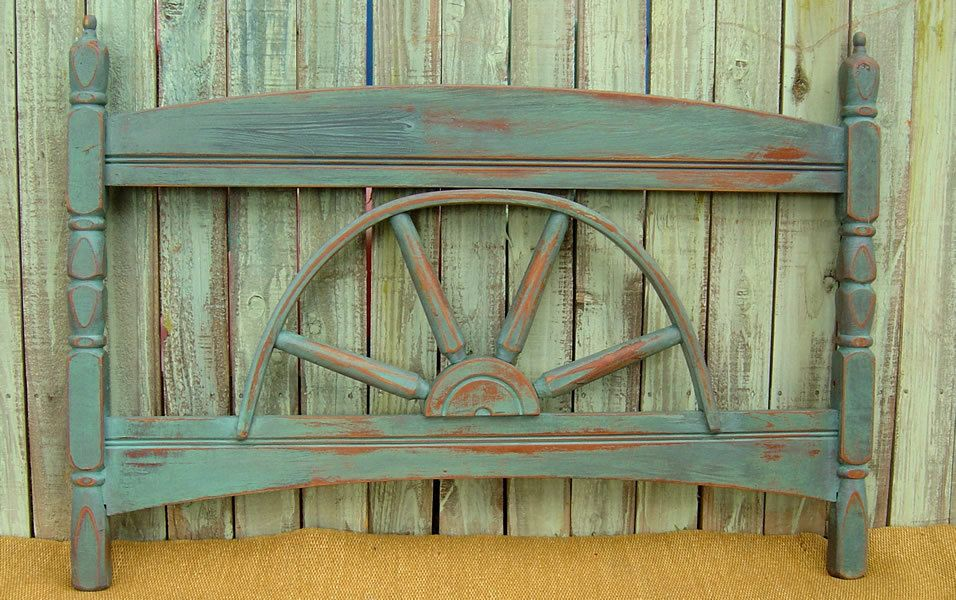 headboard for boy vintage wagon wheel headboard wagons