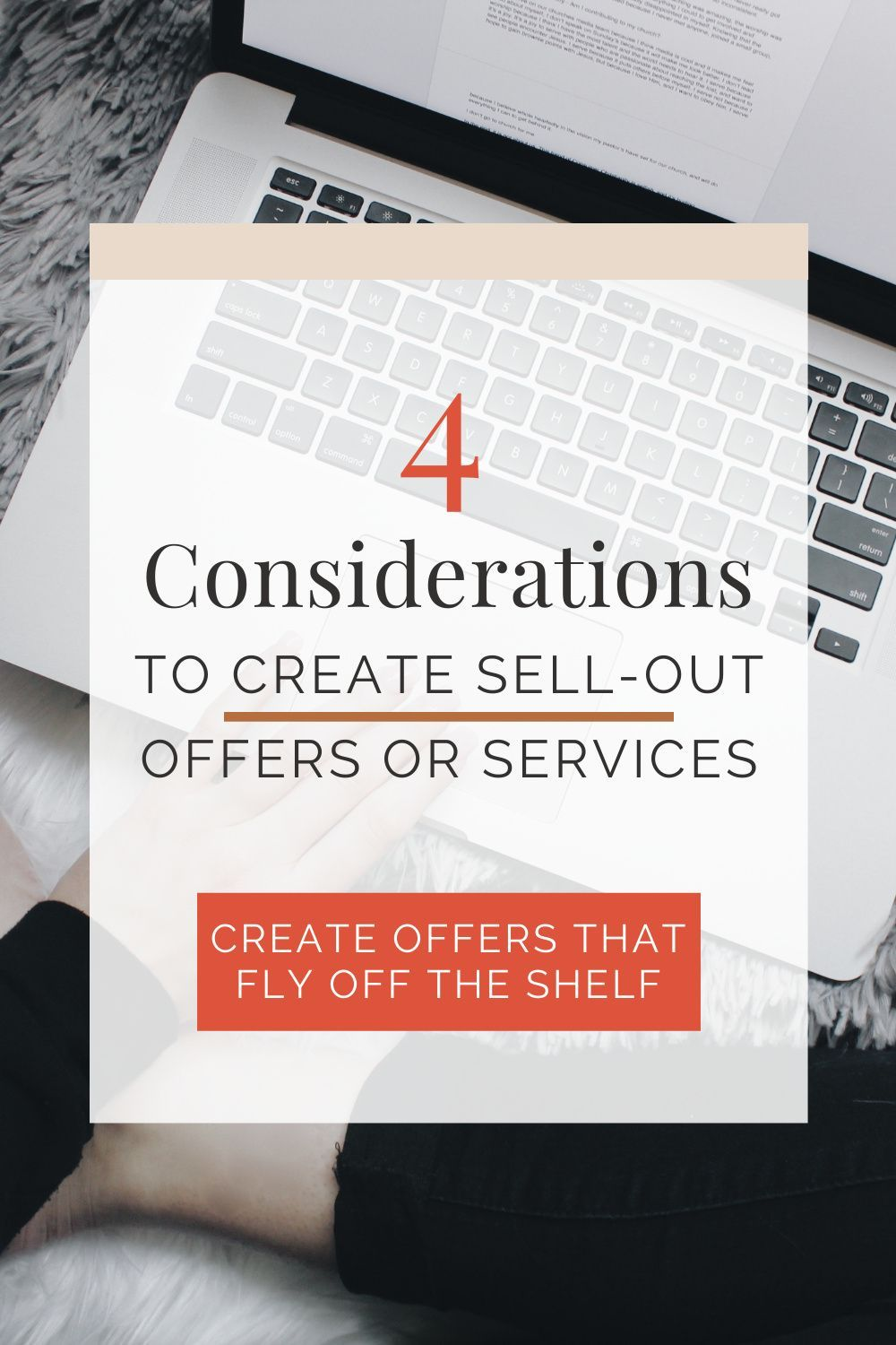 You can use these strategies when creating an offer and after a launch. Use this lens to change or edit your offer into something that fits the needs of your ideal client so that your offers sell out! | Nikki Arensman, Brand Designer and Strategist #entrepreneur #businessideas #creativeentrepreneur