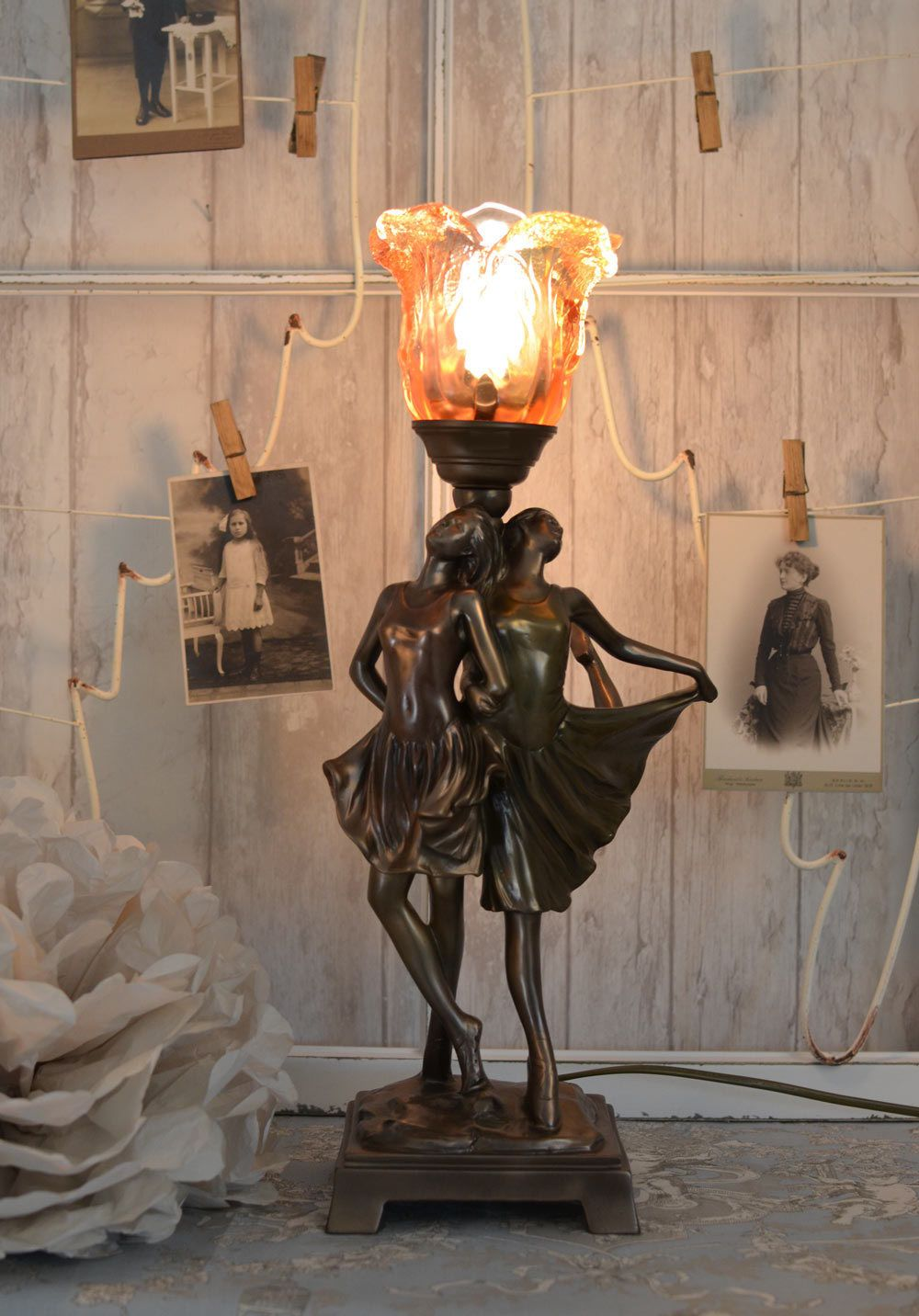 Lampka Tancerka Lampy Art Deco I Deco