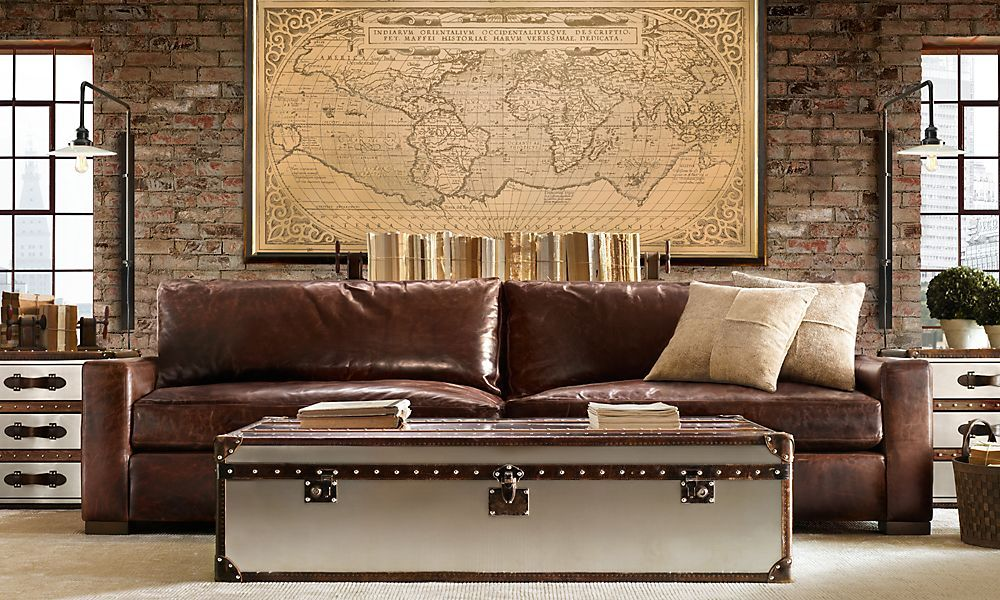 Maxwell Sofa Restoration Hardware Living Space Decor