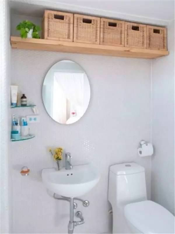 Check Out These Creative Ways To Add Extra Storage To Your Bathroom Here Are 25 Of The Best Space Saving Ideas Bathroom Storage Solutions Small Space Bathroom Small Bathroom Organization