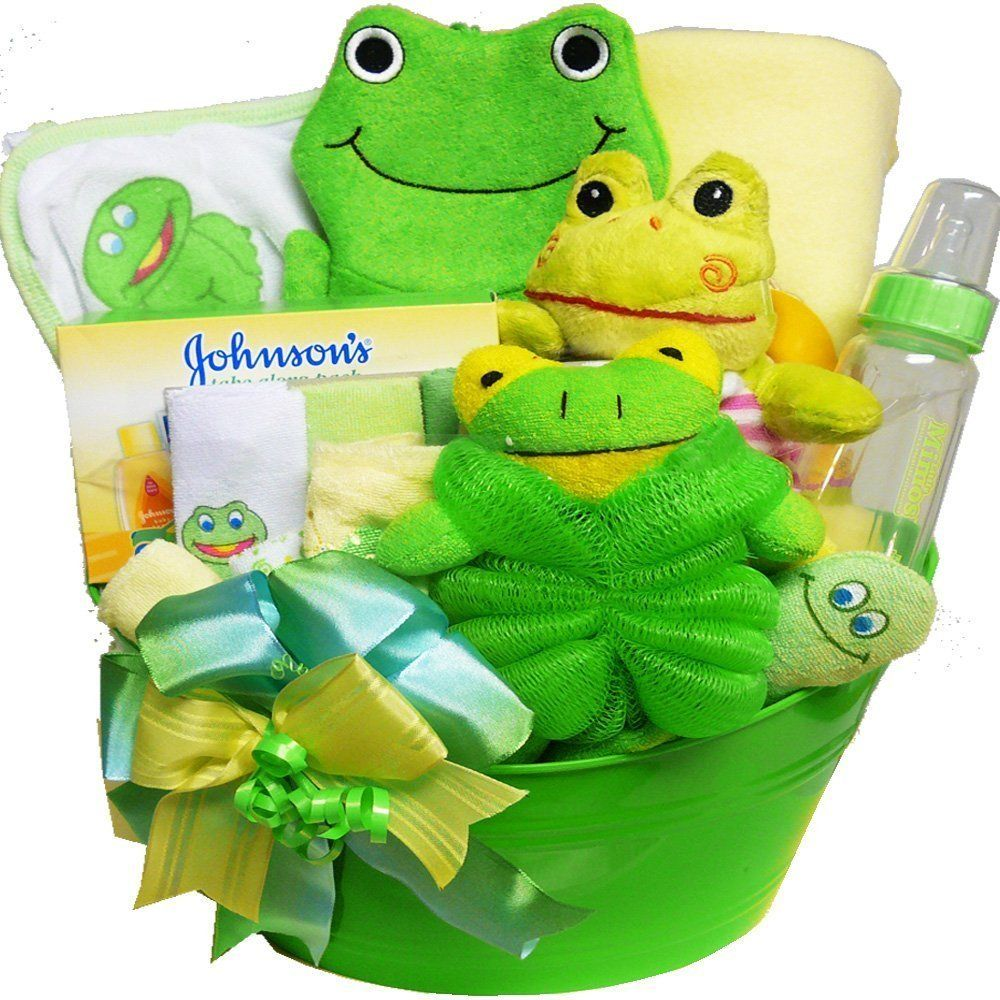 baby bath gift basket My Little Pollywog Bath Time Fun For Baby