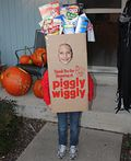 Homemade Grocery Bag Costume - 2011 Halloween Costume Contest