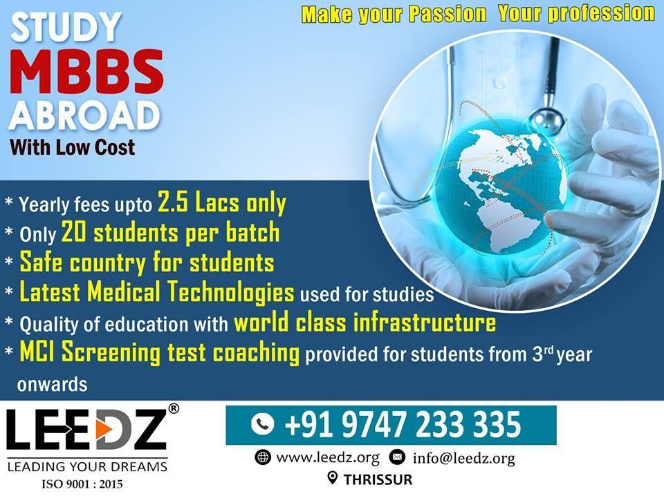 Leedz offers service in overseas education.we provide